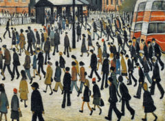 L.S. LOWRY: A Visionary Artist